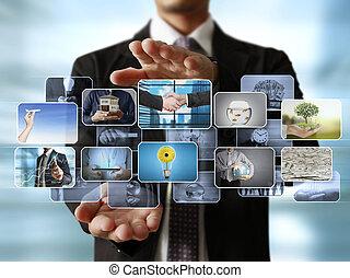 , человек, предварительный просмотр, цифровой, фото