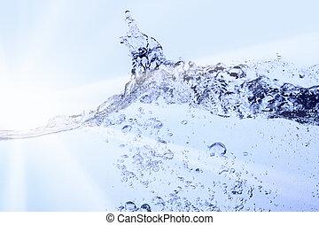 чистый, воды
