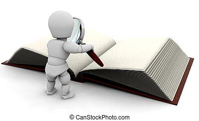 чтение, книга