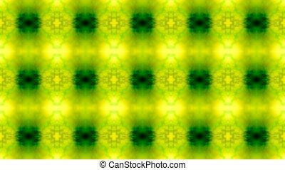 шаблон, цветок, зеленый, бесшовный