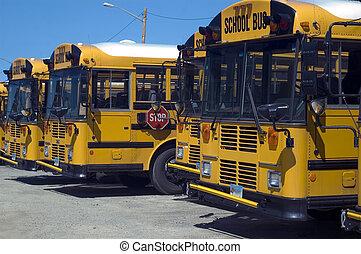 школа, автобус