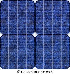 экологический, солнечный, энергия, renewable, панель