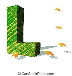 экологический, l, письмо