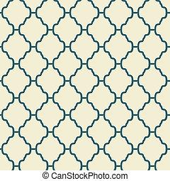 элегантный, вектор, бесшовный, (tiling), шаблон