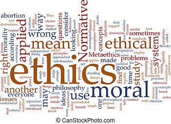 этика, слово, облако