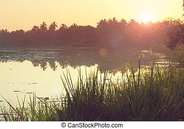 אגם, ב, סרי לנקה