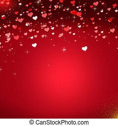 אדום, יום של ולנטיינים, רקע