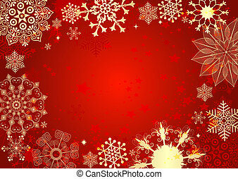 אדום, כרטיס של חג ההמולד