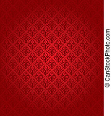 אדום, seamless, תבנית, (wallpaper)