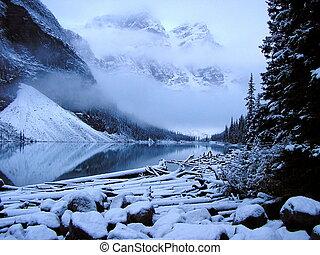אובך, אגם של סחופת הקרחון