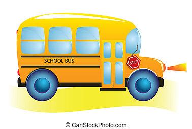 אוטובוס, בית ספר