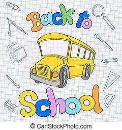אוטובוס, בית ספר, השקע