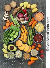 אוכל בריא, סגנון חיים
