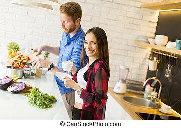 אוכל בריא, קשר, להתכונן, לאהוב