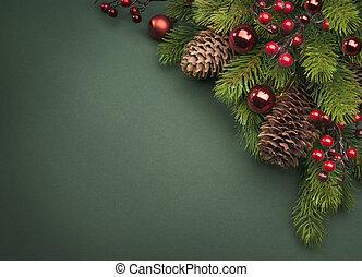 אומנות, כרטיס של חג ההמולד, דש