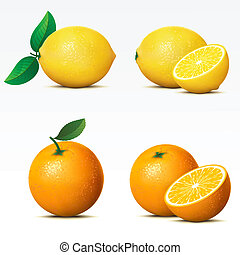 אוסף, של, פירות