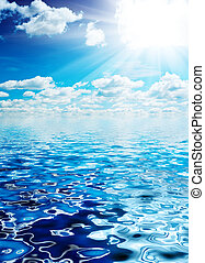 אוקינוס, ו, שמיים