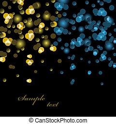 אורות, וקטור, רקע