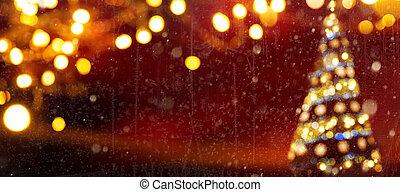 אורות, חג המולד