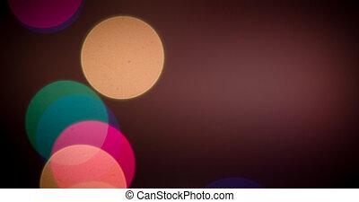אורות, bokeh, רקע, מטושטש