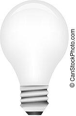 אור, וקטור, נורת חשמל