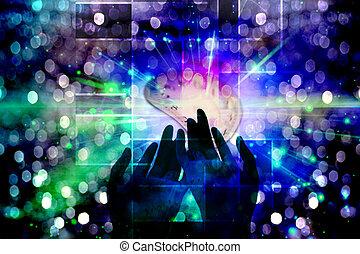 אור, ידיים