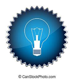 אור כחול, כפתר, נורת חשמל