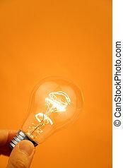 אור, מואר, נורת חשמל