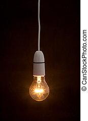אור, מואר, פנה, נורת חשמל