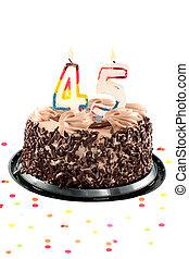 או, יום הולדת, יום שנה, חמישי, ארבעים