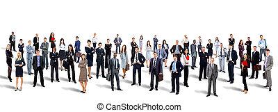 אטרקטיבי, צעיר, אנשים של עסק