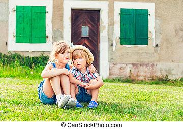 איזורי כפר, לנוח, נחמד, ילדים