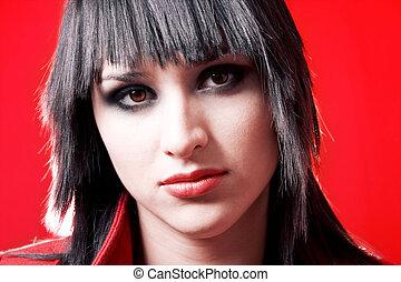 אישה, אדום