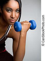 אישה, כושר גופני