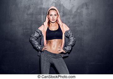 אישה, צעיר, כושר גופני