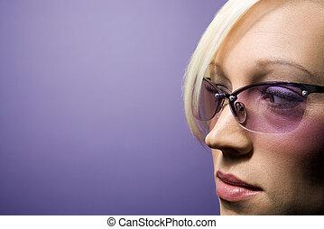 אישה, portrait.