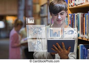 איש צעיר, ללמוד