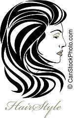 אלגנטי, דמות של אישה