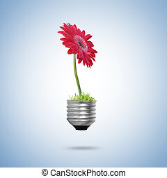 אלטרנטיבה, נורת חשמל, אור, מושג, אנרגיה