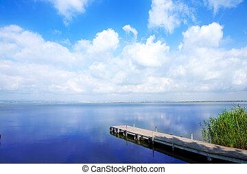 אל, albufera, saler, אגם, ואלאנכיה