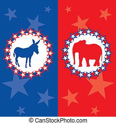 אמריקאי, בחירה, דוגמה