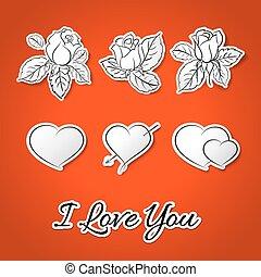 אני, אהוב, you!, ולנטיין, day.