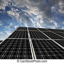 אנרגיה, לוחות, סולרי