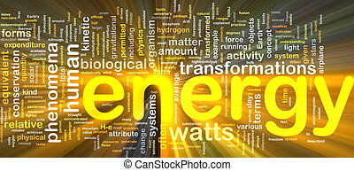 אנרגיה, מושג, פיסיקה, מבריק, רקע