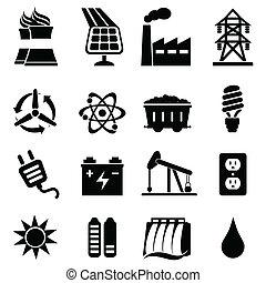 אנרגיה, קבע, איקון