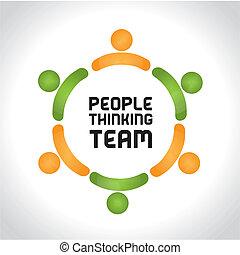 אנשים, לחשוב, התחבר