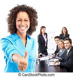 אנשים של עסק, התחבר
