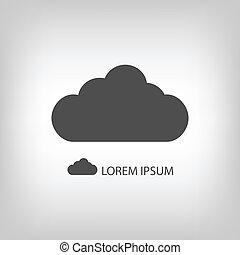 אפור, ענן