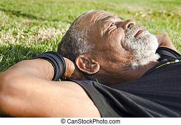 אפריקני, איש ישן