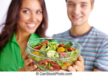 ארוחת צהרים בריאה
